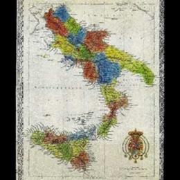 Carta dei Prodotti Alimentari delle Provincie Continentali del Regno delle due Sicilie – di Benedetto MARZOLLA (Napoli – 1856)
