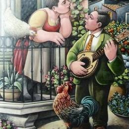 serenata profumata :poesia comica napoletana/educazione sessuale