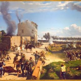 1848, LA GUERRA DI LIBERAZIONE DI MILANO E VENEZIA CONTRO L'AUSTRIA, CURTATONE, MONTANARA E GOITO