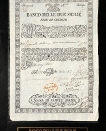 Cassa Depositi e Prestiti , Fede di Credito nel Regno delle due Sicilie