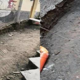 Napoli, in centro storico spunta un pavimento di 2000 anni fa