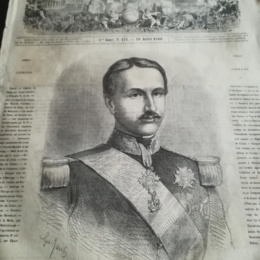 FRANCESCO II, TRATTO DA UN DOCUMENTO DI GUERRA GARIBALDINO 1860