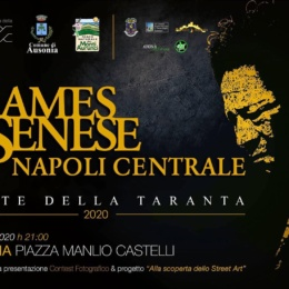 JAMES SENESE E NAPOLI CENTRALE AD AUSONIA