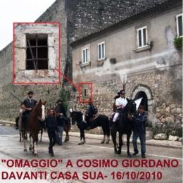 VITA DI COSIMO GIORDANO  BRIGANTE (II PARTE)