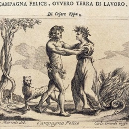 La lotta tra Cerere e Bacco: Terra di Lavoro nell'Iconologia di Cesare Ripa (1593)