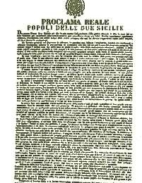 Proclama di Francesco II a Gaeta (8 dicembre 1860)