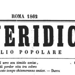 """""""IL VERIDICO"""" N. 4 UN PROGETTO DI SENTENZA PER GARIBALDI"""