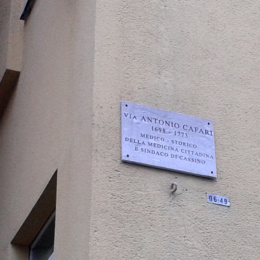 Antonio Cafaro un luminare napolitano e laborino nato a Cassino già San Germano