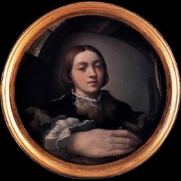 Lo sguardo del Parmigianino, tra realtà visiva e realtà materiale