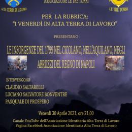 """""""Le Insorgenze del 1799 nel Cicolano, nell'Aquilano, negli Abruzzi del Regno di Napoli"""""""