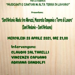 """""""Sant'Antonio Abate tra Abruzzi, Macerata Campania e Terra di Lavoro (Sant'Andonie-Sant'Antuono)"""