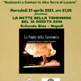 """Concerto """"La Notte della Tammorra"""" 2019 a Napoli"""