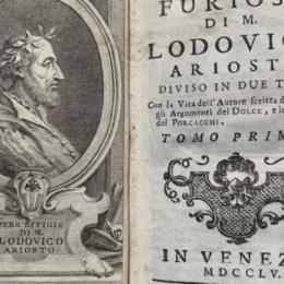 22 aprile 1516: Prima pubblicazione dell'Orlando Furioso… inizia il trionfo dell'individualismo