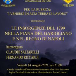 """""""Le Insorgenze del 1799 nella piana del Garigliano e del Regno di Napoli"""" con Fernando Riccardi"""