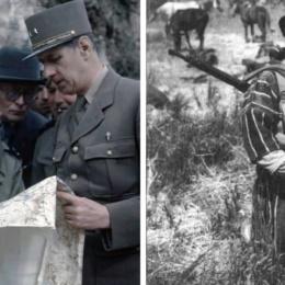 De Gaulle era presente nei luoghi delle Marocchinate. E non fece nulla per impedirle