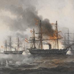 La battaglia navale di Lissa, 20 luglio 1866