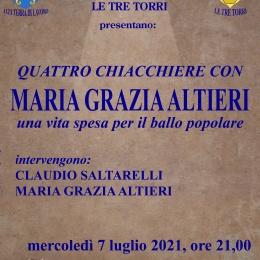 """""""Quattro chiacchiere con Maria Grazie Altieri, una vita spesa per il ballo popolare"""""""