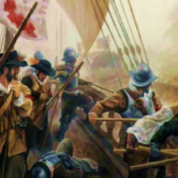 Il capitano Monticelli alla battaglia di Lepanto