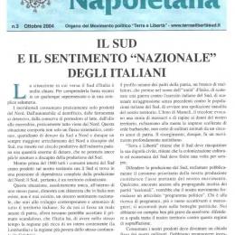 """Il Sud e il sentimento """"nazionale"""" degli italiani"""