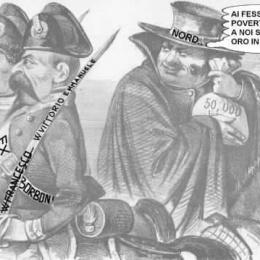 Tangentopoli ha la stessa data di nascita dell'Unità d'Italia