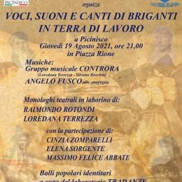 """""""Voci, Suoni e Canti di Briganti in Terra di Lavoro"""" a Picinisco"""