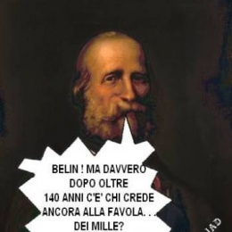 """La favola dei """"mille"""" di Garibaldi"""